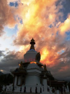 Memorial Chorten en Thimphu
